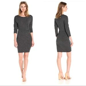 Cupcakes and Cashmere Striped Bodycon Dress XS NWT